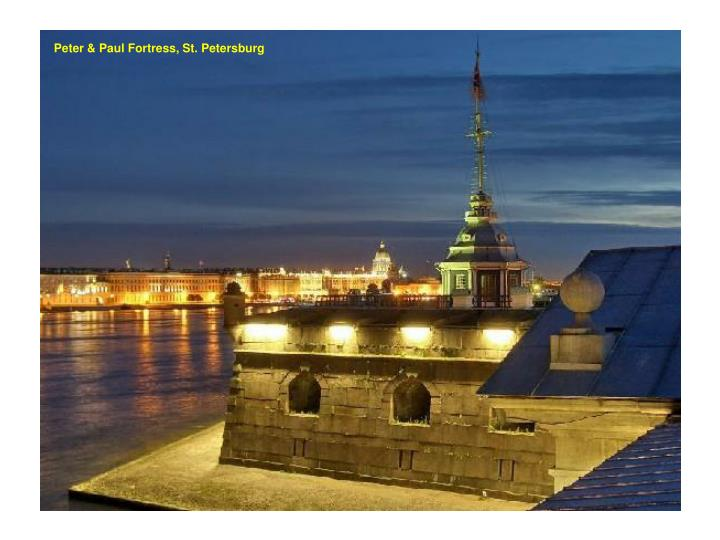 Peter & Paul Fortress, St. Petersburg