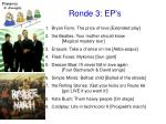 ronde 3 ep s18