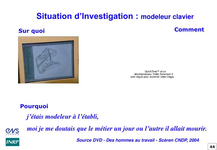 Situation d'Investigation :