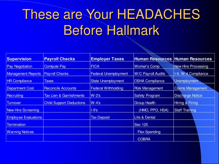 These are Your HEADACHES Before Hallmark