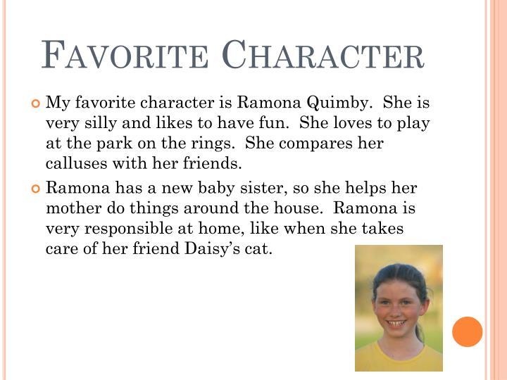 Favorite character