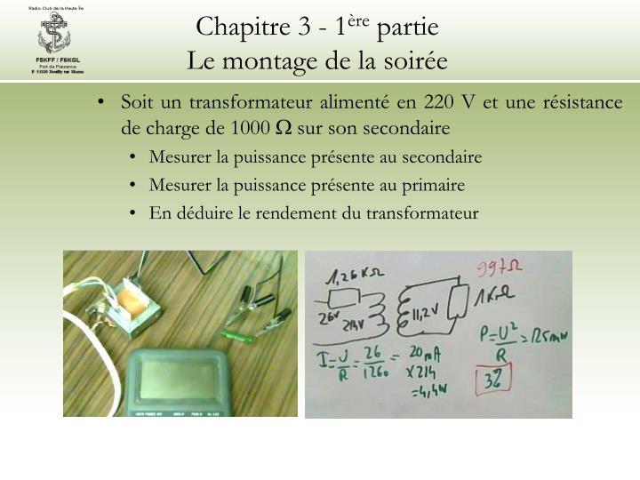Chapitre 3 - 1