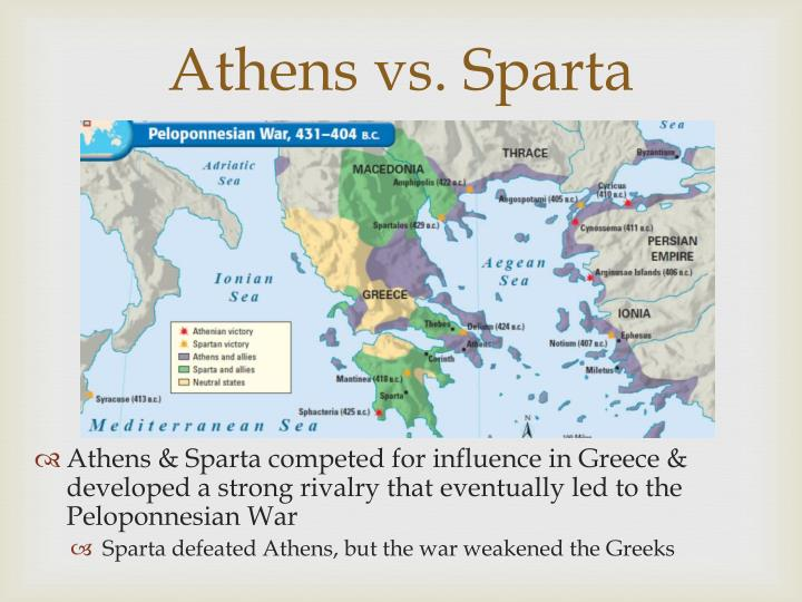 sparta or athens essay Free essay: athens vs sparta the greek city-states of athens and sparta were similar in that they both denied women basic rights, but they are more.