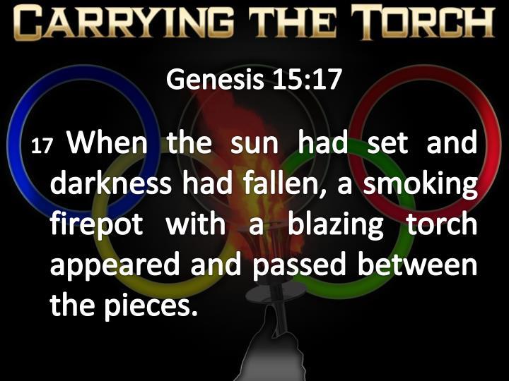 Genesis 15 17