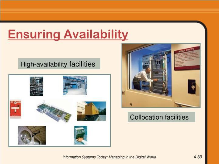 Ensuring Availability
