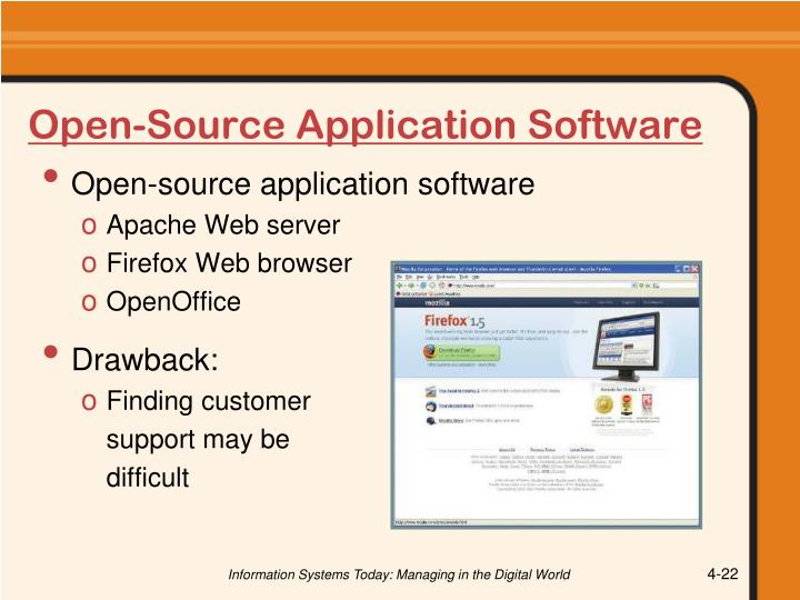 Open-Source Application Software