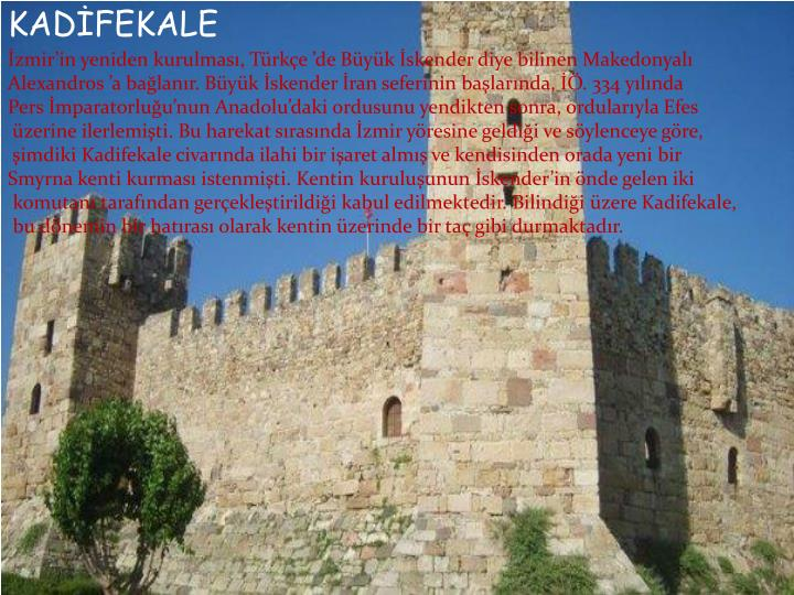 KADİFEKALE