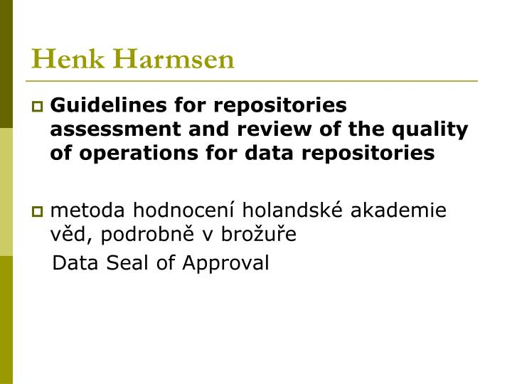 Henk Harmsen
