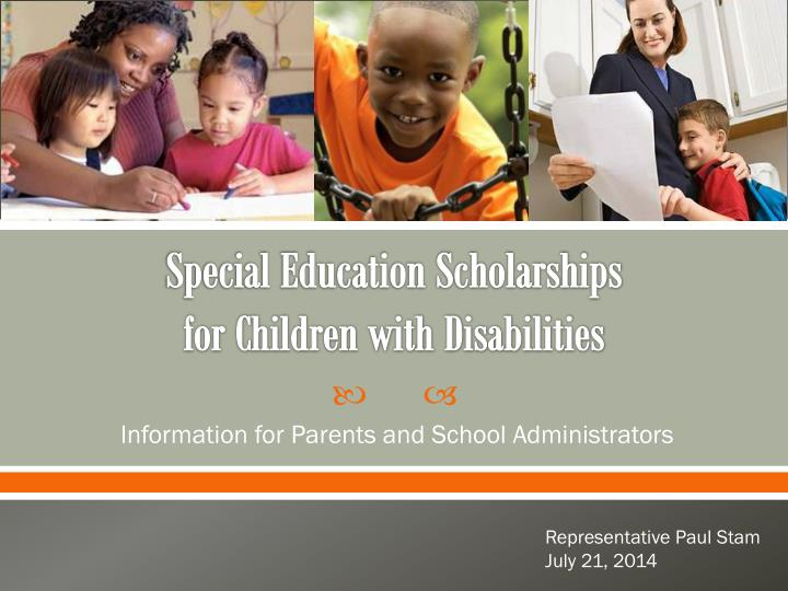 special education scholarships for children with disabilities n.
