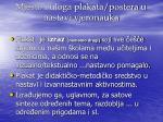 mjesto i uloga plakata postera u nastavi vjeronauka