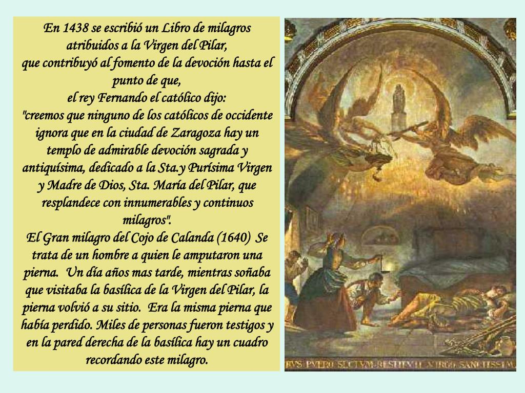 Ppt Virgen Del Pilar Patrona De La Hispanidad Powerpoint Presentation Id 5309433
