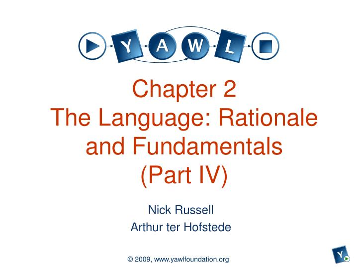 chapter 2 the language rationale and fundamentals part iv n.