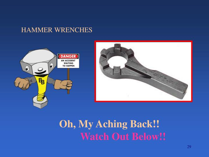 HAMMER WRENCHES
