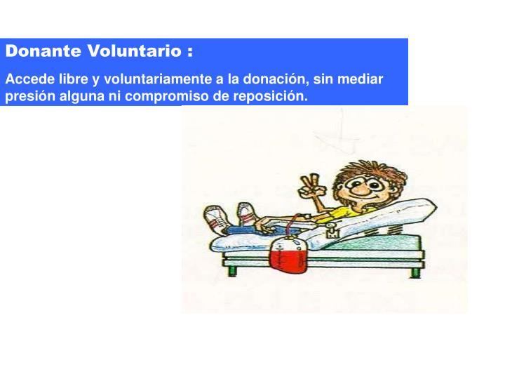Donante Voluntario :