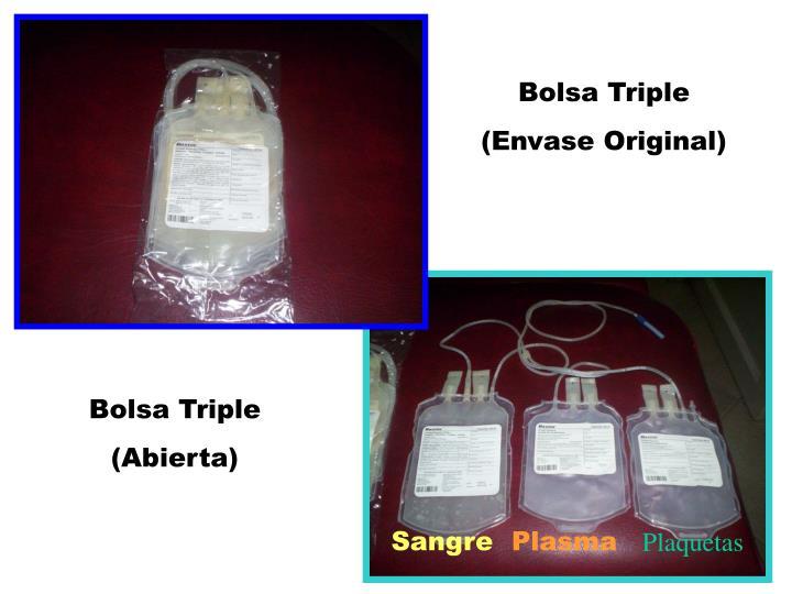 Bolsa Triple