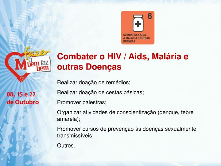Combater o HIV /