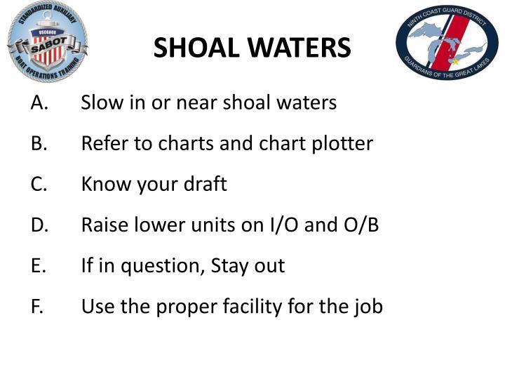 SHOAL WATERS