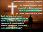 el bautismo del esp ritu en los evangelios1
