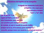 el bautismo del esp ritu en los evangelios2