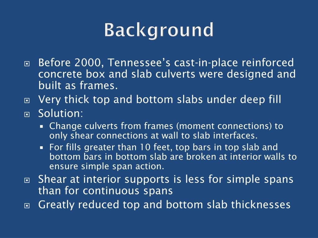 PPT - Culvert Top Slab Design Using Opis PowerPoint Presentation