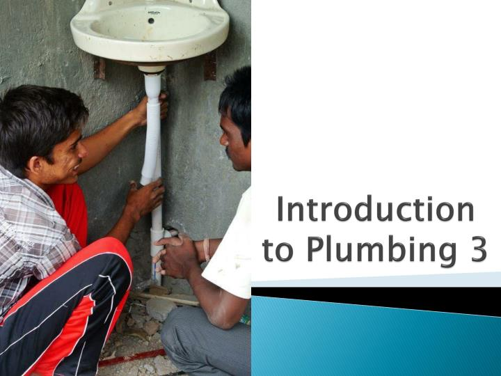 introduction to plumbing 3 n.