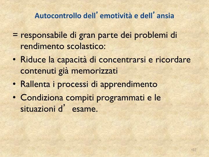 Autocontrollo dell