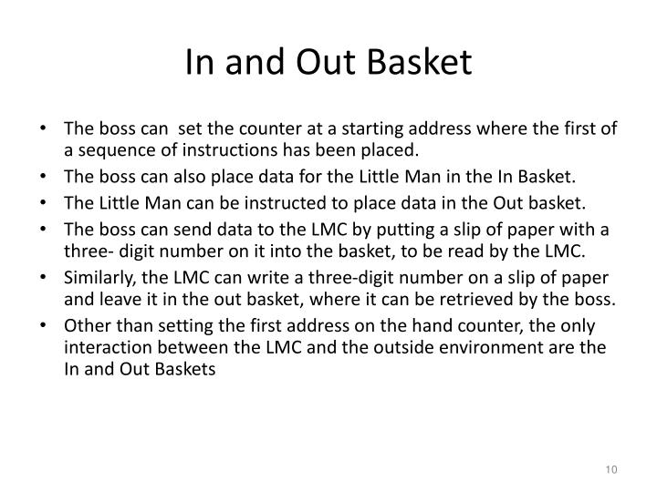 In and Out Basket