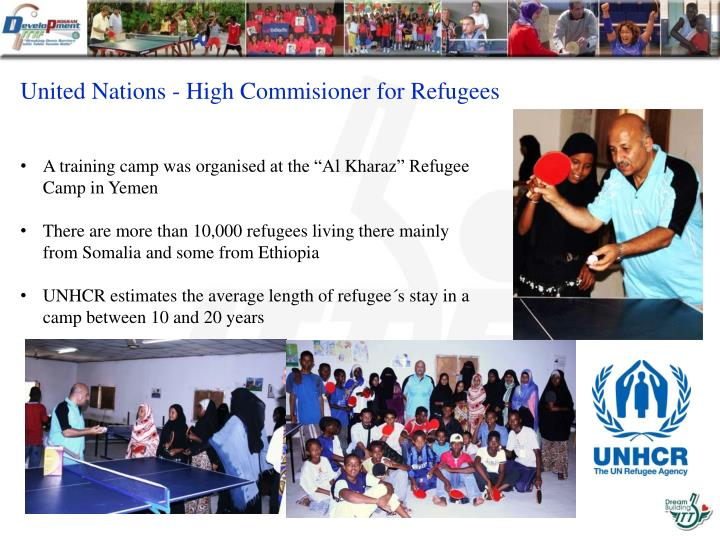 United Nations - High Commisioner for Refugees