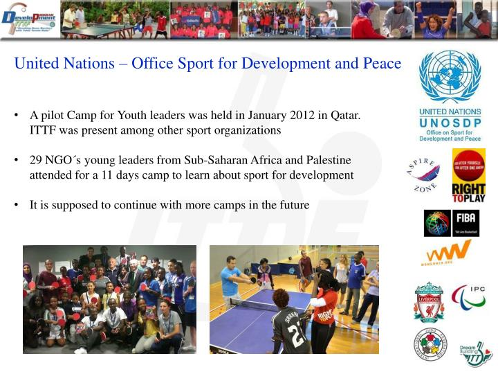 United Nations – Office Sport for Development and Peace