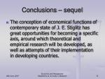 conclusions sequel2
