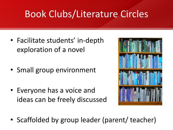Book Clubs/Literature Circles