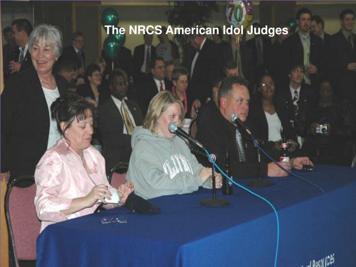 The NRCS American Idol Judges