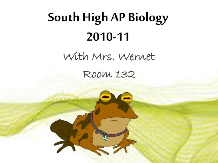 South High AP Biology