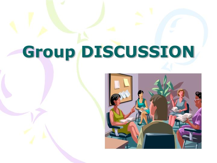 group discussion n.