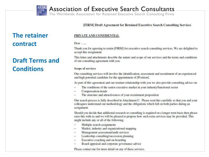 Ppt Retained Executive Search A S Trategic P Artner For Hr P