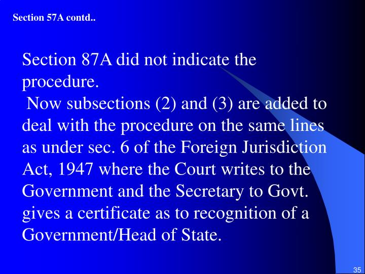 Section 57A contd..