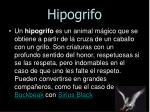 hipogrifo