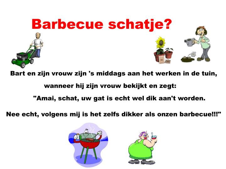 barbecue schatje n.