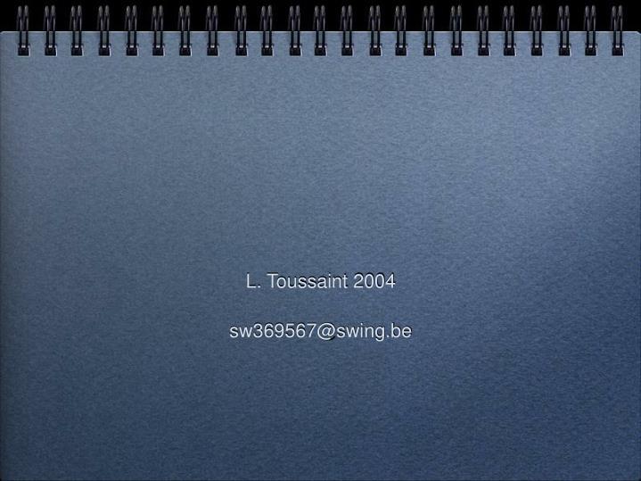 L. Toussaint 2004