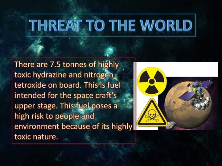 threat to the world