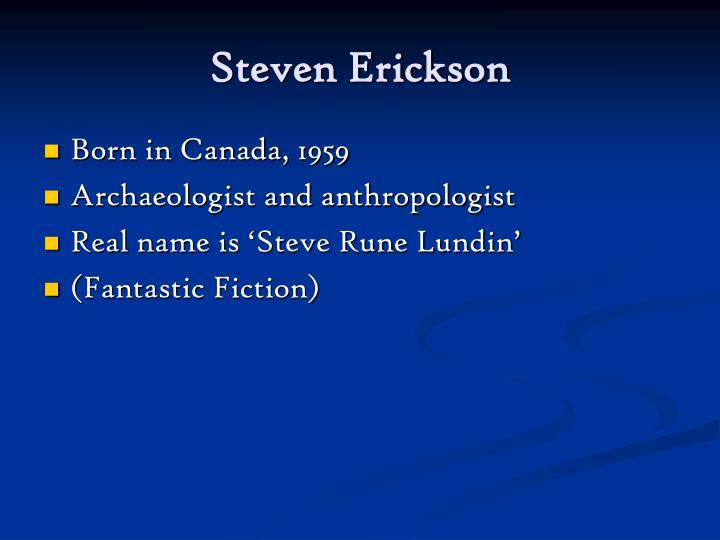 Steven erickson