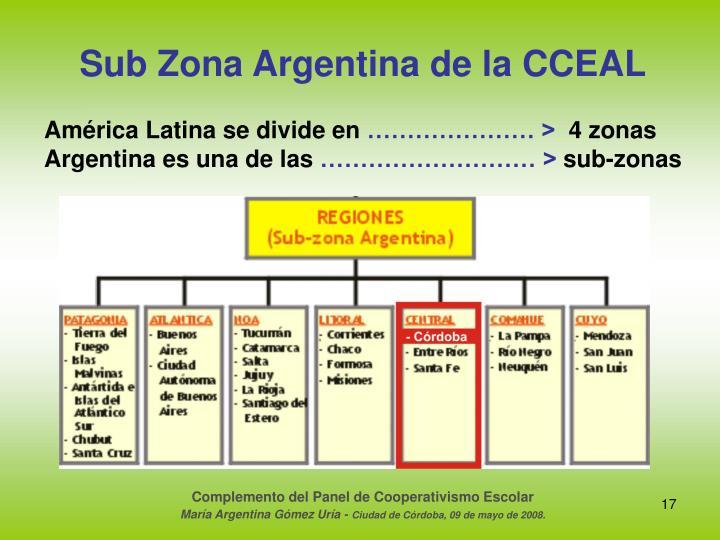Sub Zona Argentina de la CCEAL
