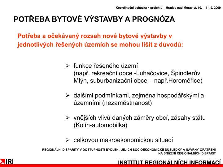 Koordinační schůzka k projektu – Hradec nad Moravicí, 10. – 11. 9. 2009
