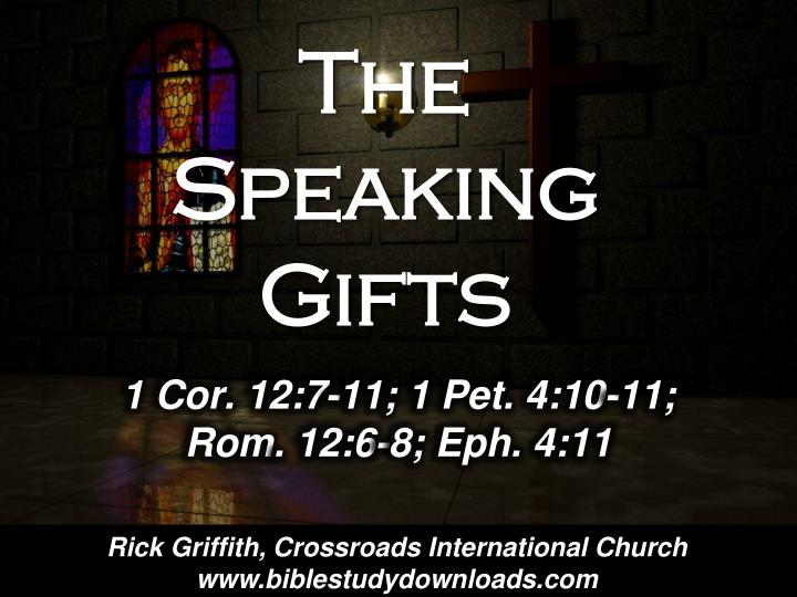 the speaking gifts n.