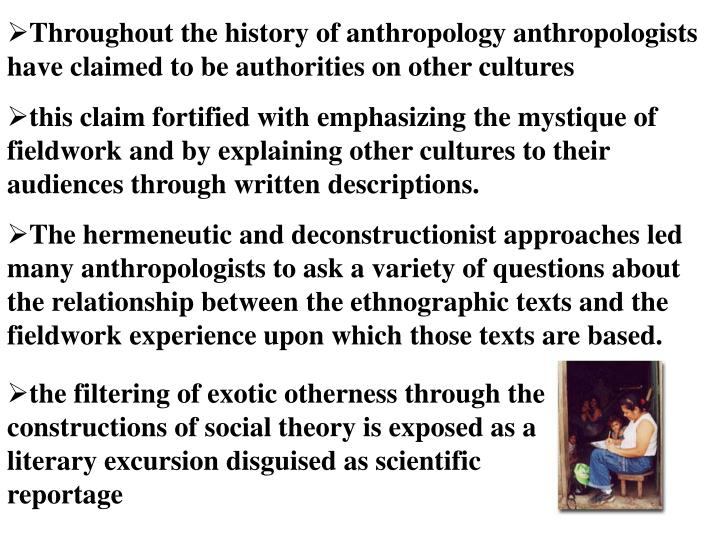 anthropology and history relationship