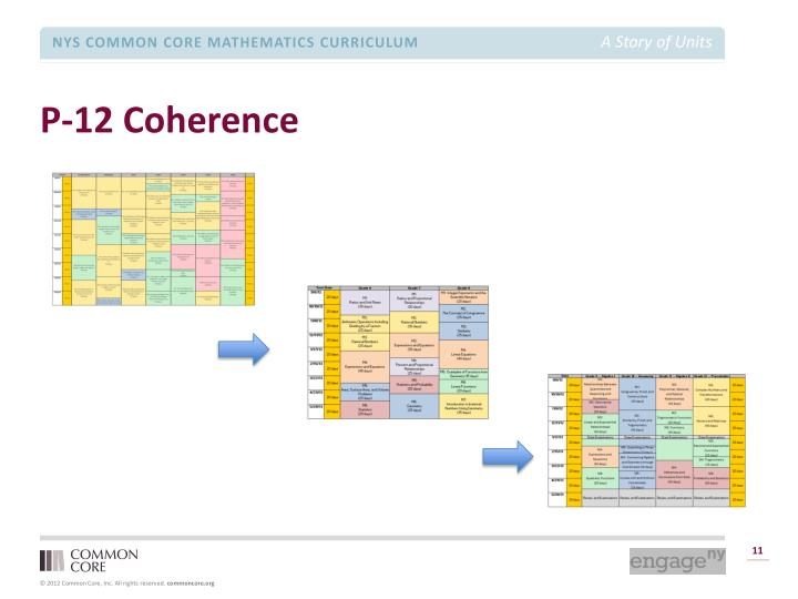 P-12 Coherence