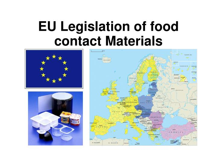eu legislation of food contact materials n.