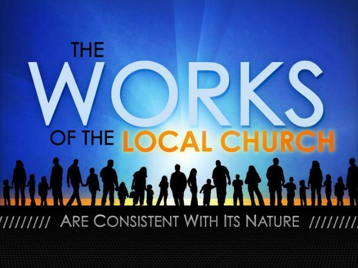the works of the local church n.