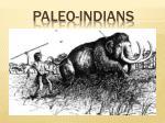 paleo indians