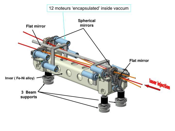 12 moteurs 'encapsulated' inside vaccum